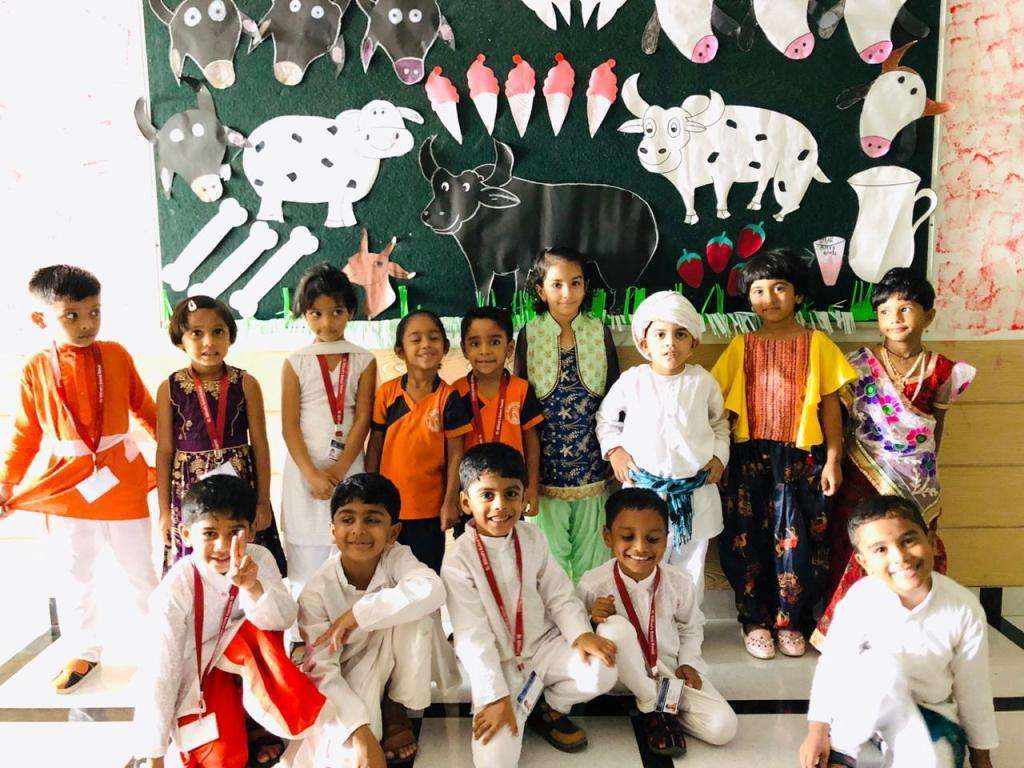 Celebrates Milk Day (Pre Primary Section)
